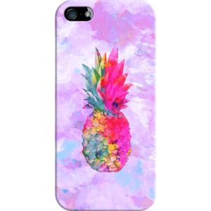 iPhone 6 Plus/6/5/5s/5c Case - Bright Neon Hawaiian Pinapple Tropical Watercolor