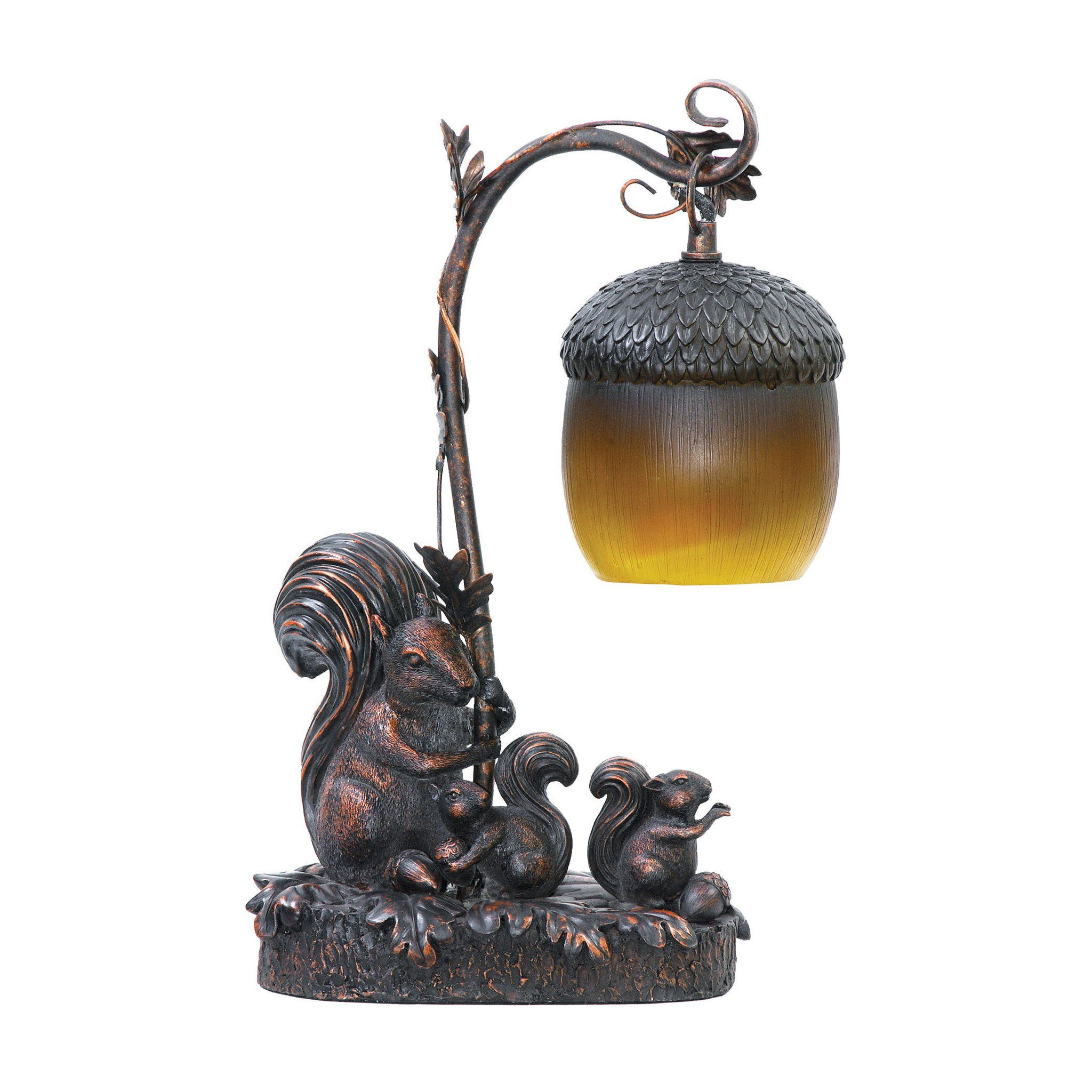 Squirrel Acorn Mini Accent Table Lamp Products