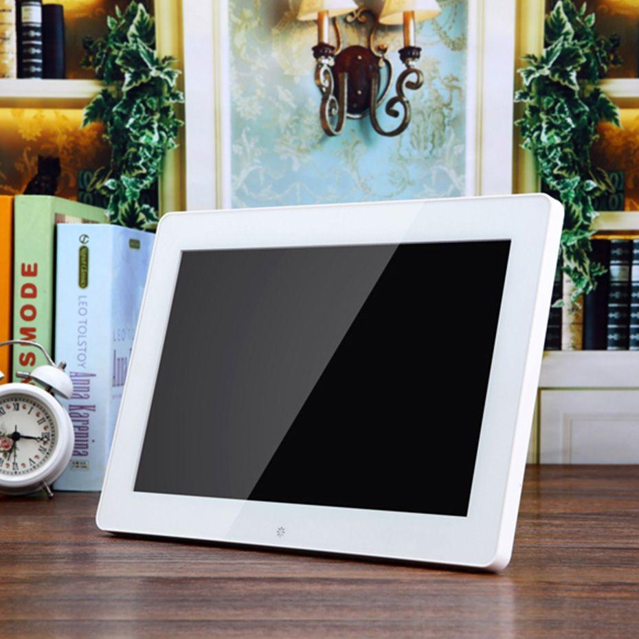 12 LED Digital Photo Frame 1024 600 High Resolution Picture Frame ...