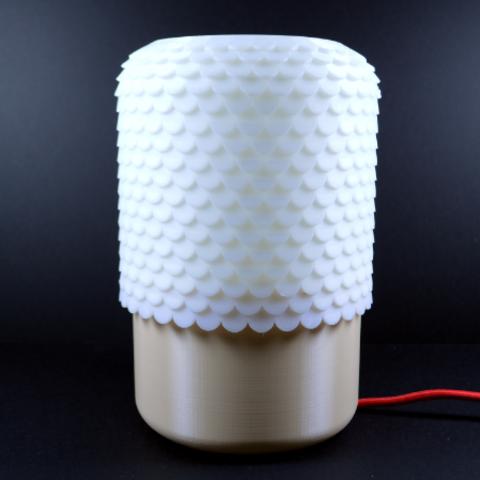 Tile Lamp Build A Table 3d Printer Designs 3d Printing