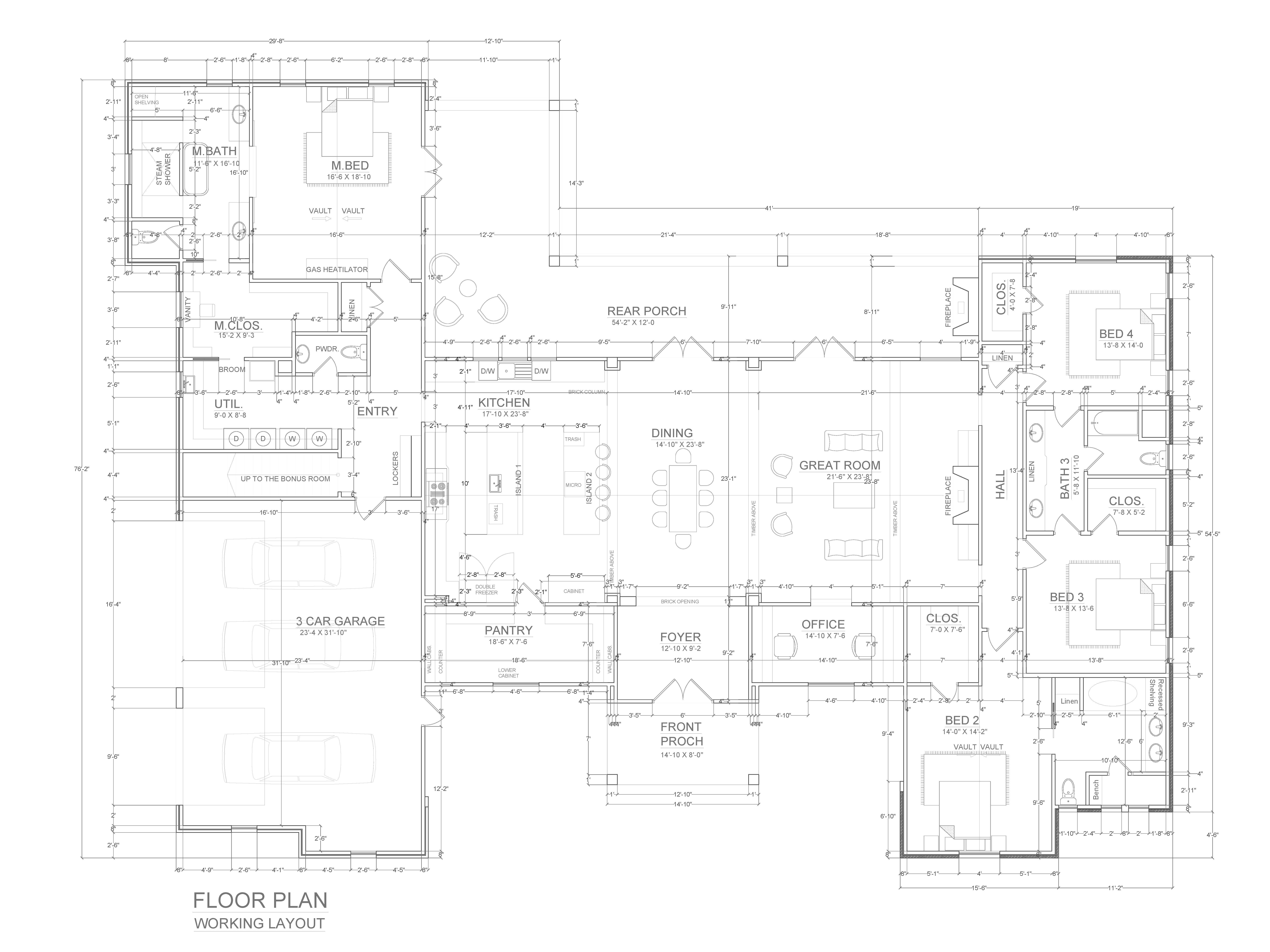 I Will Design Your Architectural Floor Plan In Autocad Architectural Floor Plans Floor Plan Drawing Autocad