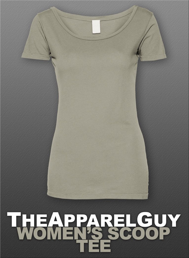 Women\'s Scoop Tee by TheApparelGuy | Mockups | Pinterest