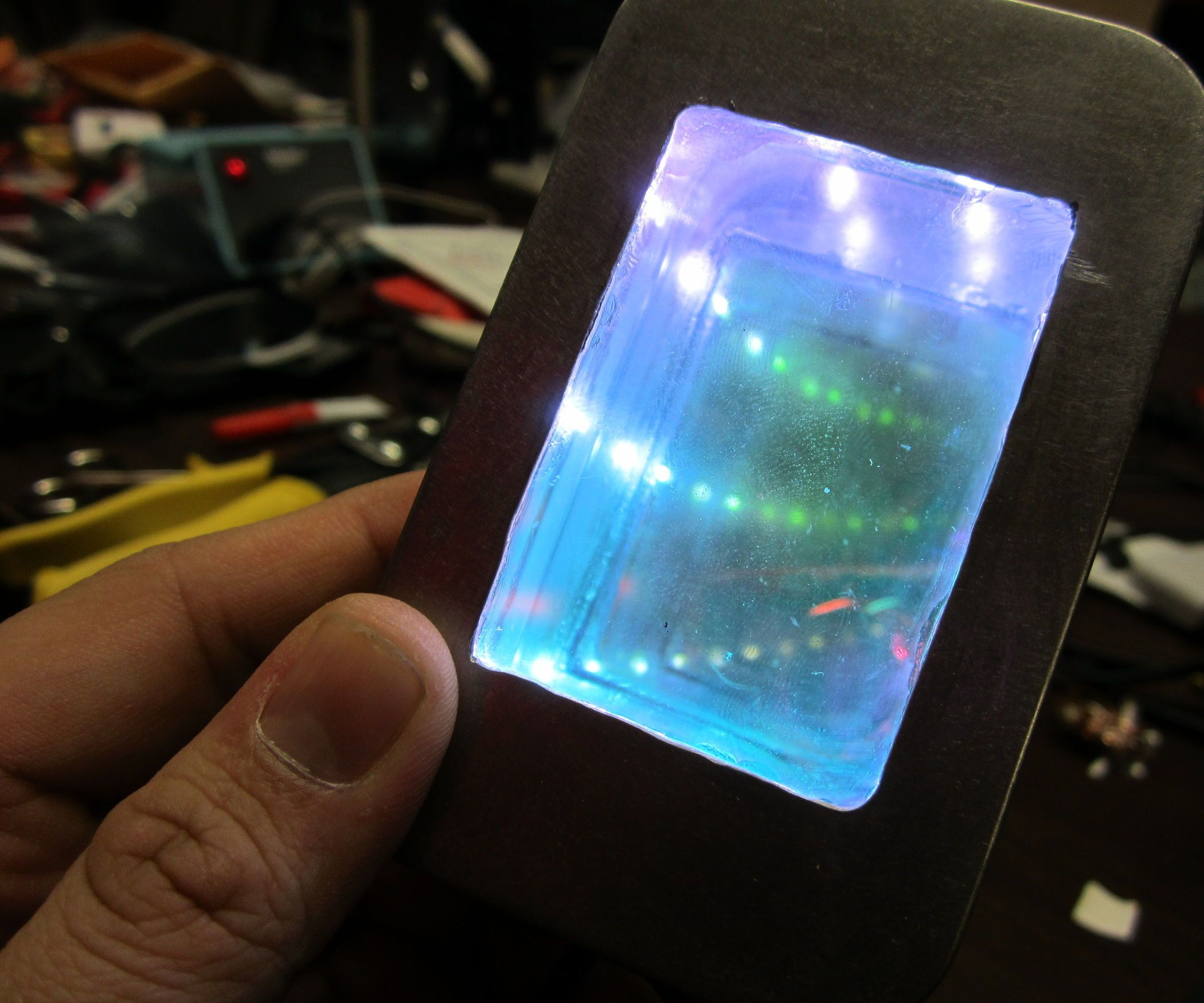 DIY Altoids Infinity Mirror