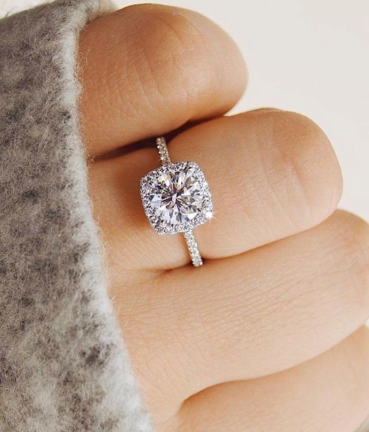 Wedding Engagement Ring Sparkly Trending Engagement Rings Dream Engagement Rings Big Wedding Rings