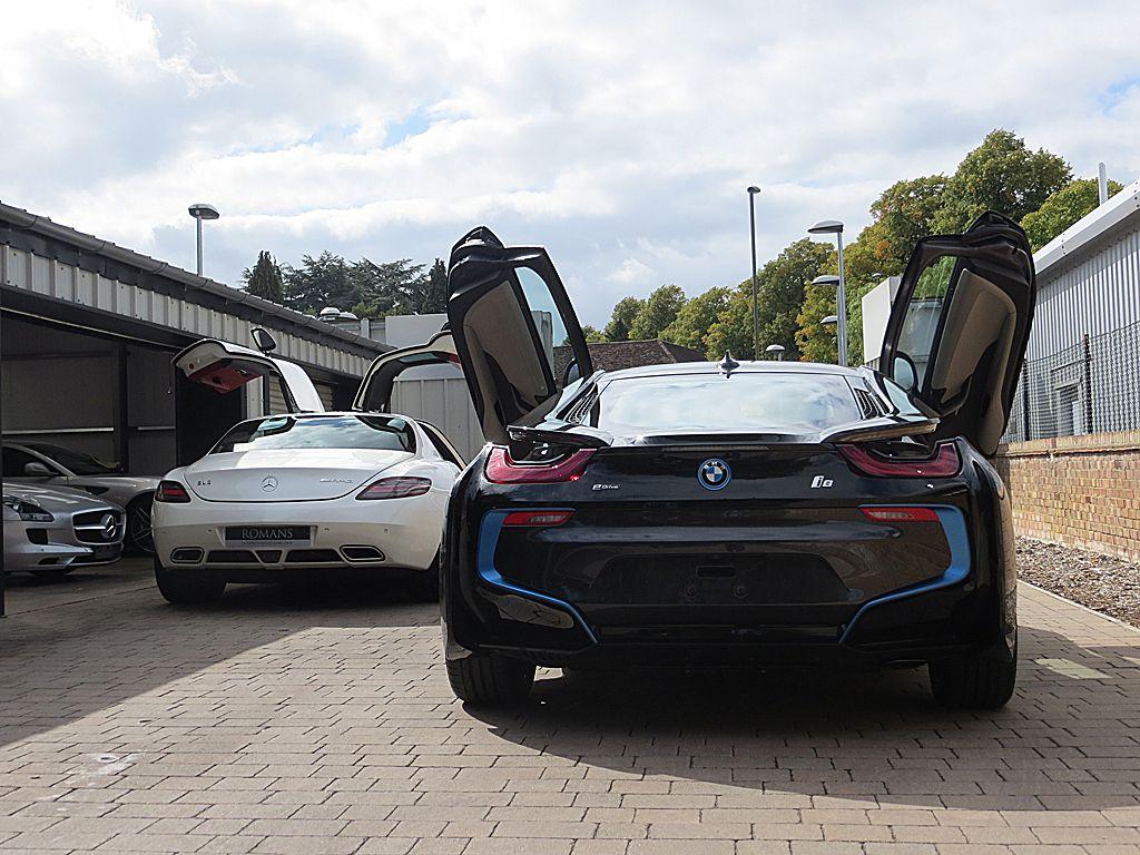 BMW i8 vs SLS AMG Doors | BMW | Pinterest | Performance cars, Bmw i8 ...