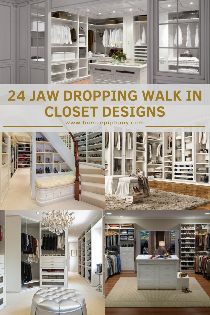 24 Jaw-Dropping Walk-In Closet Designs | Attractive Interiors ...