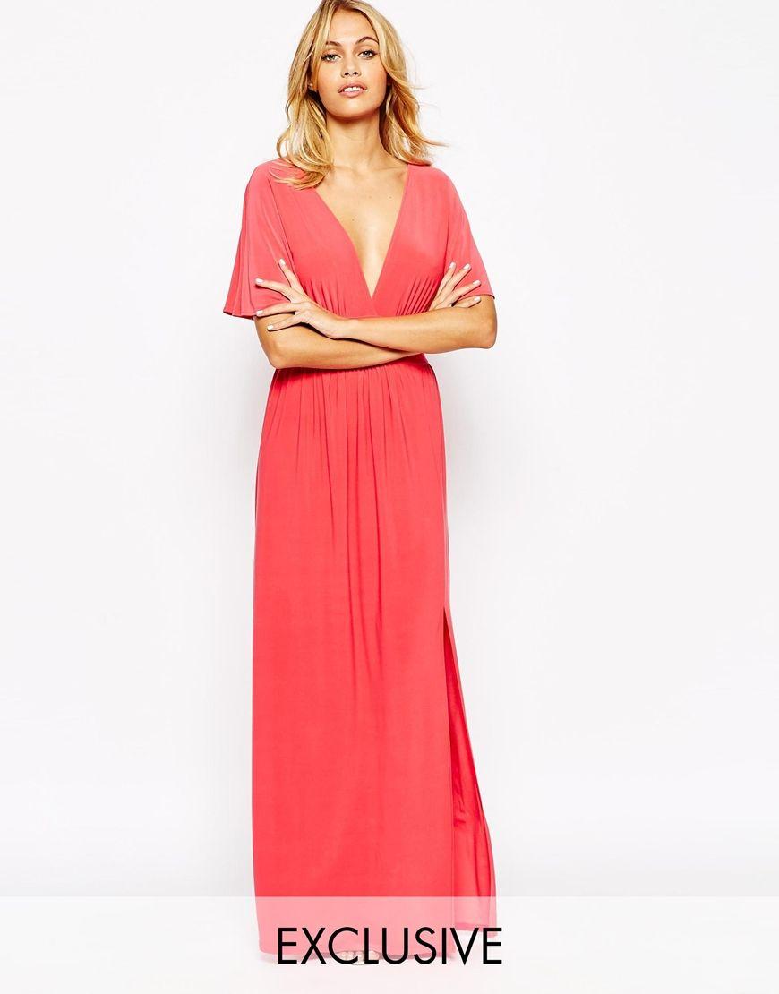 Love+Kimono+Sleeve+Maxi+Dress | WEDDING - Guests | Pinterest | Maxi ...