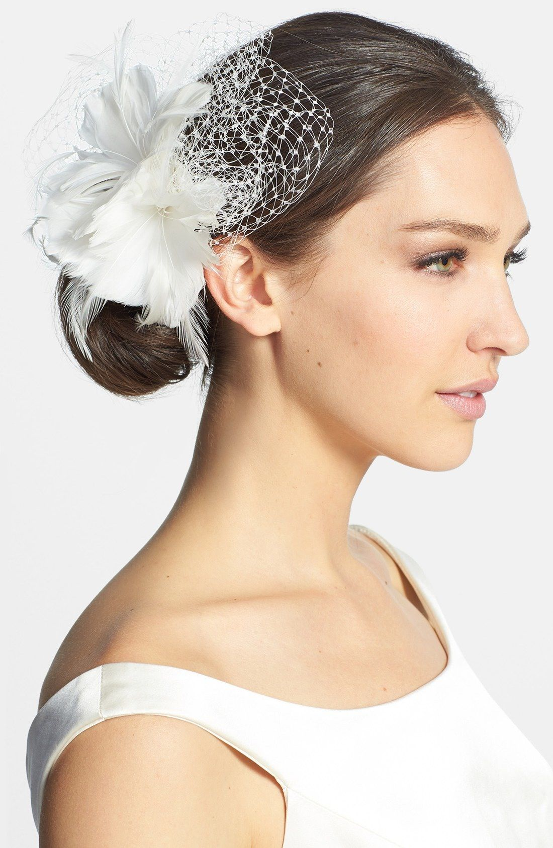 J-Picone \'Kiera\' Floral Fascinator available at #Nordstrom ...
