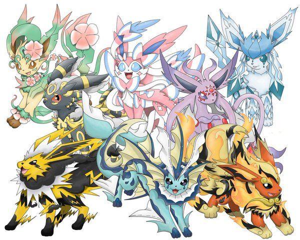 Pokemon20 Pokemon Days Pokemon Eevee Evolutions Pokemon Pokemon Fusion Art