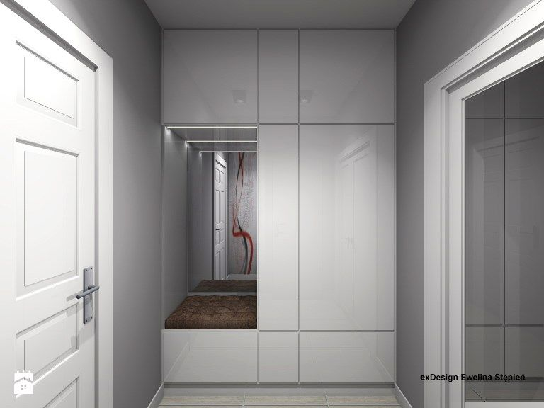 Awesome Hallway Cabinets Design