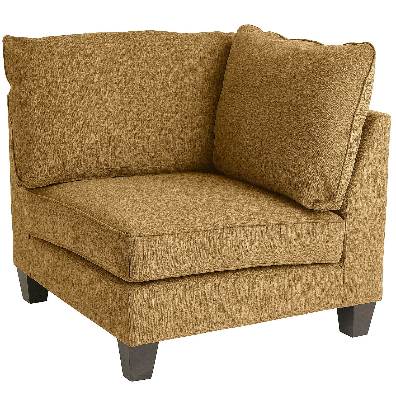 Polyester Crandall Corner Chair Furniture Chairs