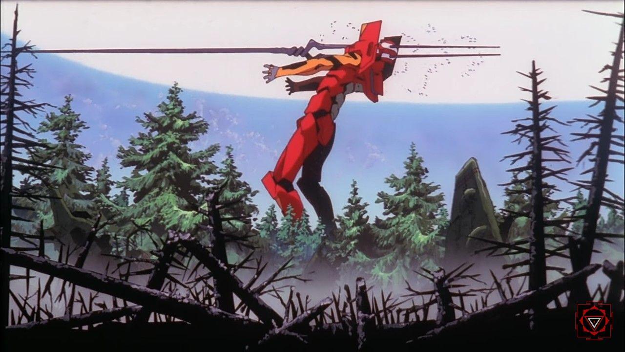 The End Of Evangelion Asuka Vs Eva Series The Best Escena Fight Ever Neon Genesis Evangelion The End Of Evangelion Evangelion