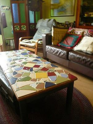 Tremendous Feb Tile Sale Inspiration Diy Mosaic Coffee Table Diy Ocoug Best Dining Table And Chair Ideas Images Ocougorg