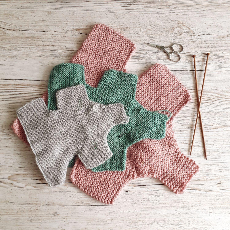 Baby Elephant Knitting Pattern (Görüntüler ile) | Aplike ...