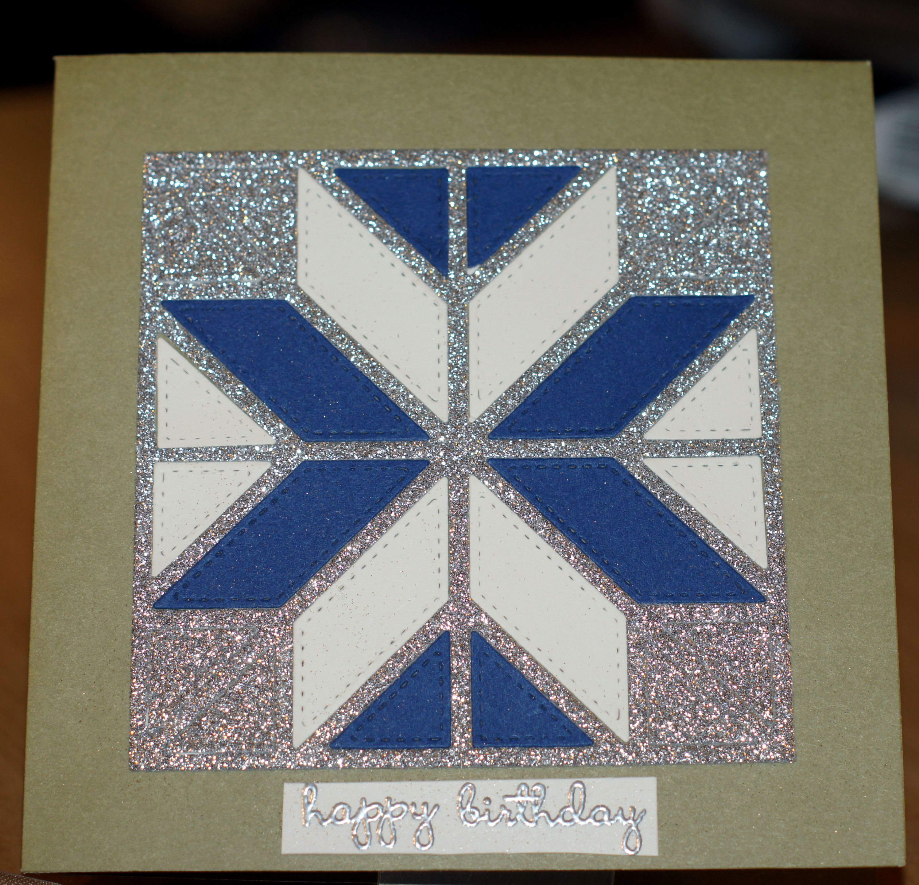 Birthday Card For A Member Of A Quilting Group Aliexpress Quilt Die