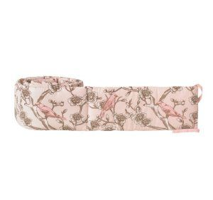 DwellStudio Bumper, Vintage Blossom Blush:Amazon:Baby