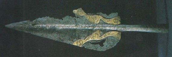 Image result for 2nd century BC, was discovered in the river Thames in London Ornamental Spear Head