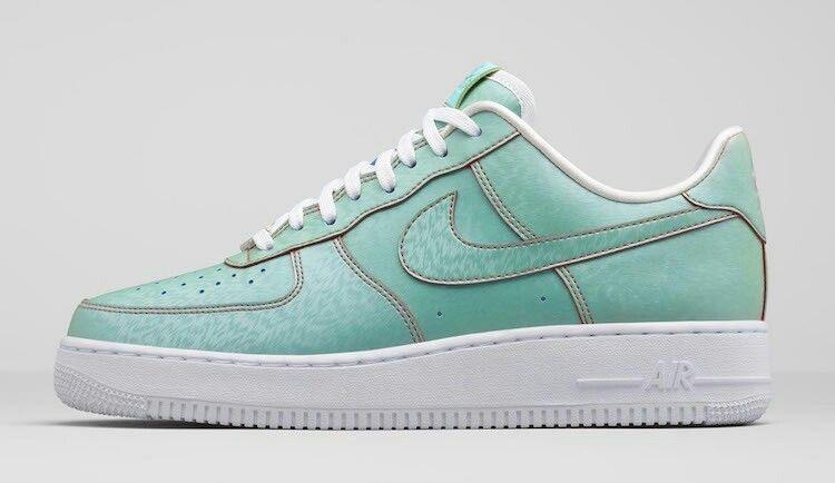 Top Deals Men's Nike Air Force One Low Suede Mushroom Light Grey Navy Blue 315111 101
