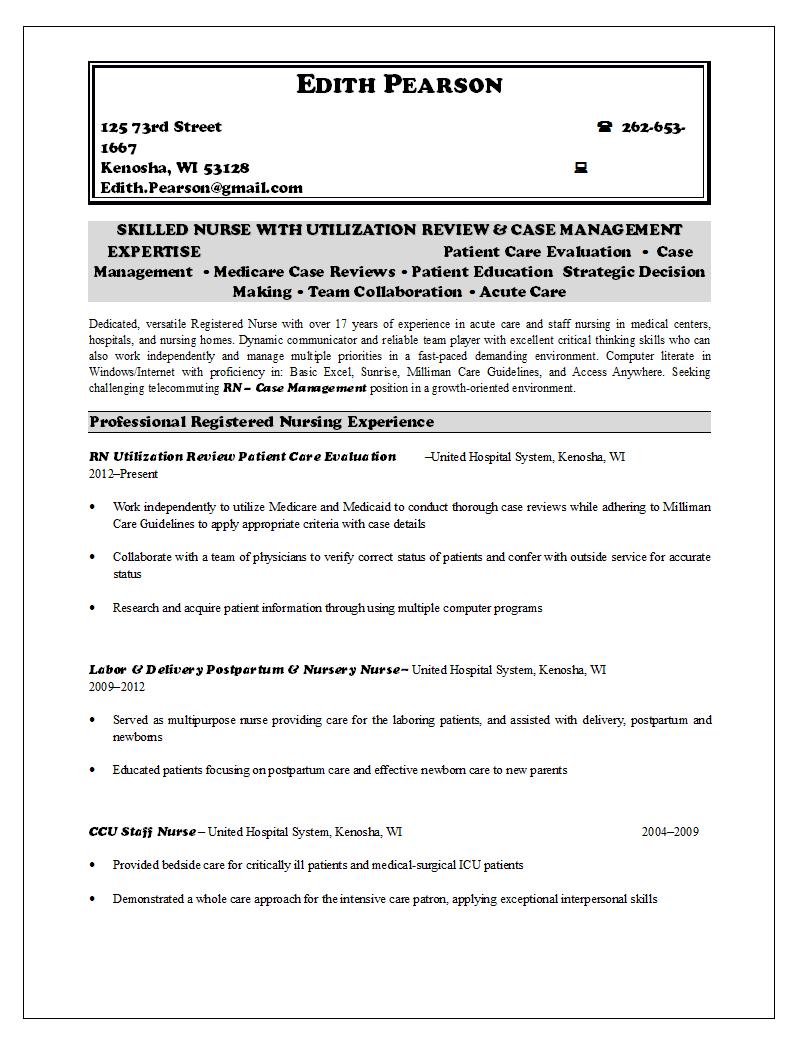 nurse resume writing service