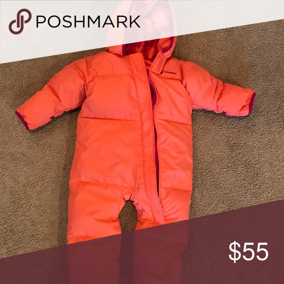 a90d93cd3 Columbia 18-24 snow suit coral Columbia Brand size 18-24 months ...