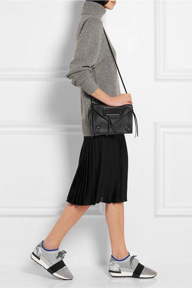 Balenciaga - Race Runner leather, suede