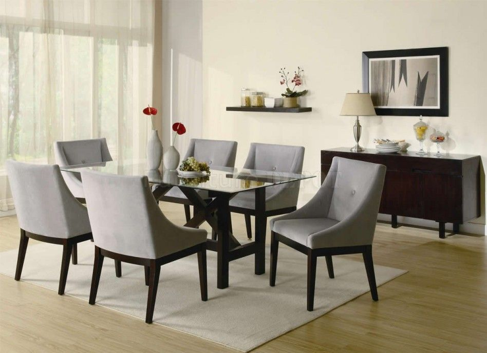 Dining Room Beige Contemporary Dining Room Alongside Rectangle