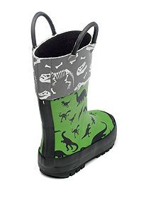 ac297bf9 Boys Jurassic dinosaur rain boot Kids Rain Boots, Rubber Rain Boots,  Childrens Shoes,