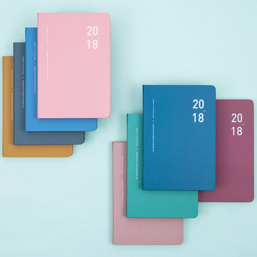 2018 basic dated weekly planner scheduler weekly planner and planners