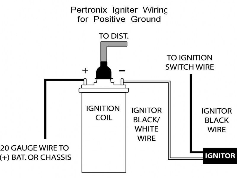 Ignition Coil Distributor Wiring Diagram Wiring Forums In 2020 Ignition Coil Coil Diagram