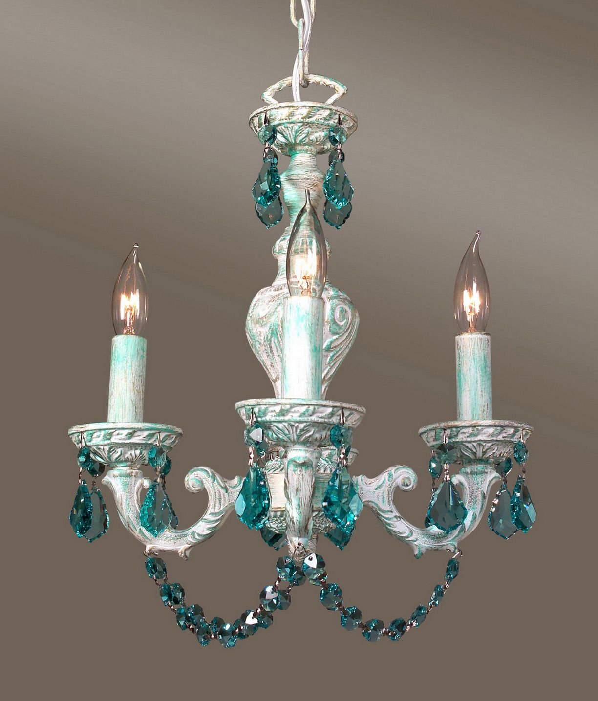 Light Blue Small Chandelier Small Chandelier Bedroom Small Crystal Chandelier