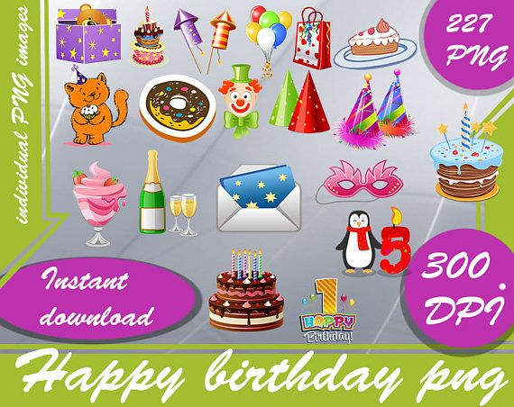 Birthday Decoration Png
