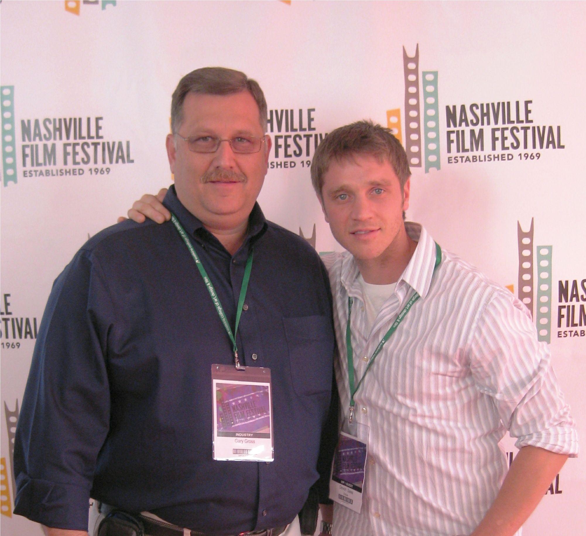 Devon sawa and i in nashville tn at a film festival