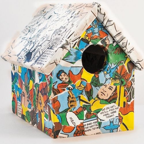 Super Simple Ideas For People Who Hate Yard Work: Superman Bird House (With Images)