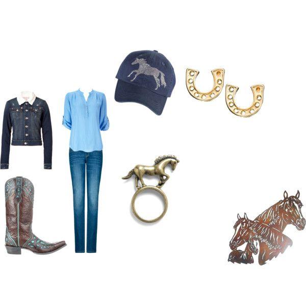 Horses, created by adele-kaja