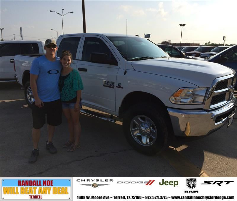 HappyAnniversary to Scott Flick on your 2014 #Ram #2500 from Taylor
