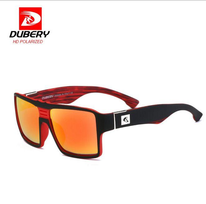 3.19 - Dubery Men Sport Polarized Sunglasses Outdoor Driving Square  Fashion Glasses  ebay  Fashion 944b8d628a15