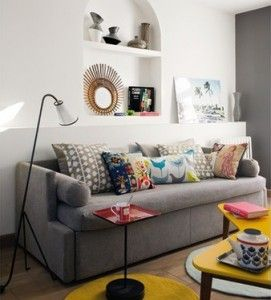 Best Cushions To Brighten Your Sofa Happy Living Rooms Grey 400 x 300