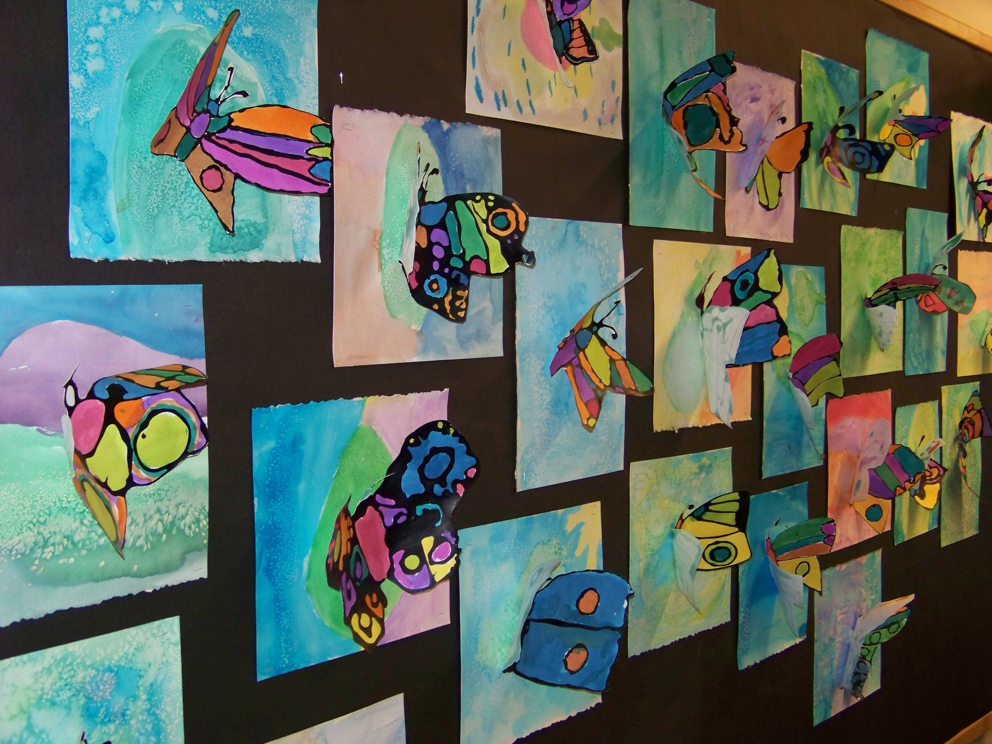 Cornstarch And Liquid Watercolors Liquid Watercolor Kids Art