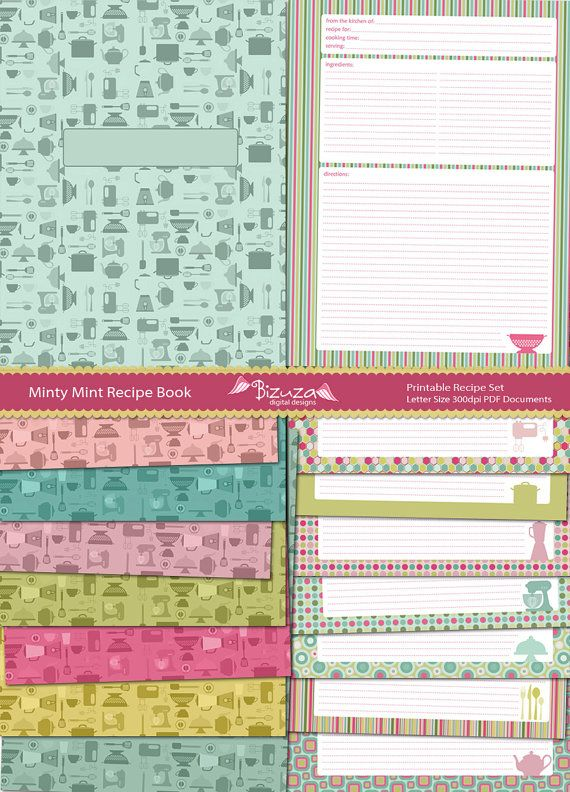 recipe templates binder size pictures nice binder cover free