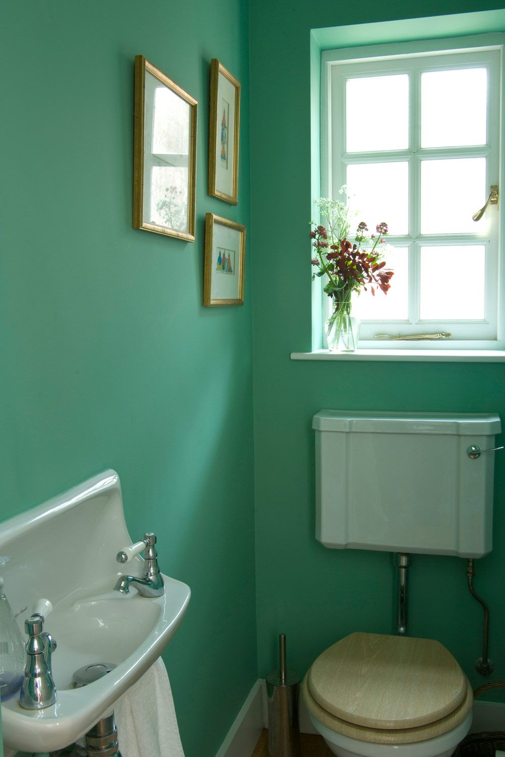 Kleurenwaaier Farrow And Ball Farrow Ball Arsenic Bathroom A Matic Badkamer Interieur