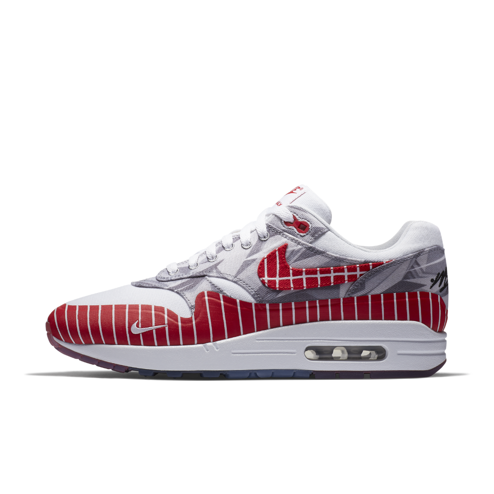 check out ee959 d04b9 Nike Air Max 1 LHM Men s Shoe Size 8.5 (White)