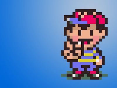 Earthbound Wallpaper Pixel Art Artistic Wallpaper Wallpapers For Mobile Phones