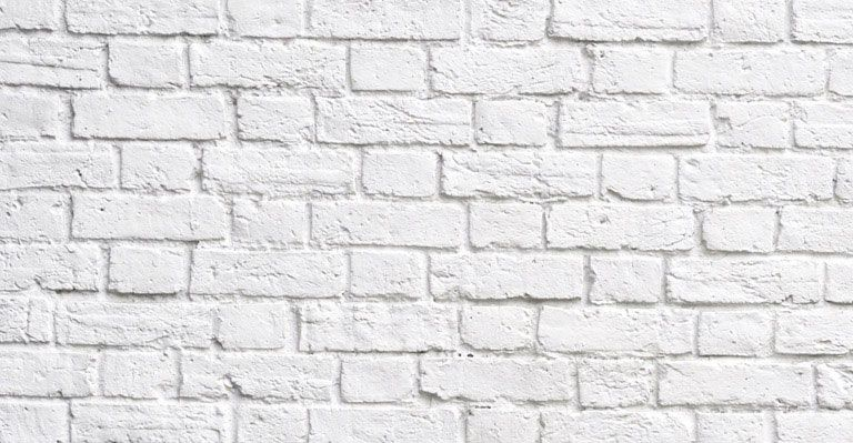 choose white brick wall wallpaper to create fantastic wall decor in