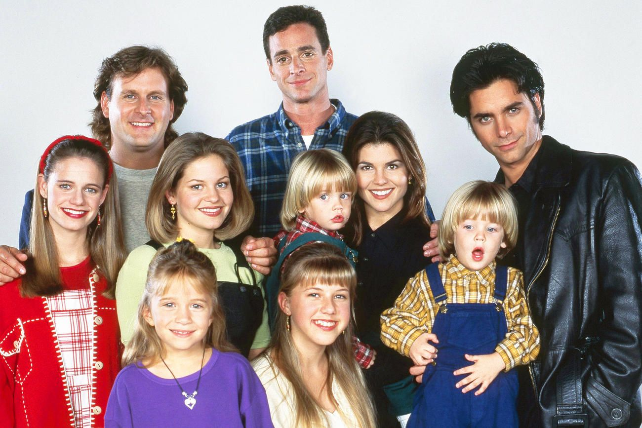 Full house stars then and now full house house and for Fully house