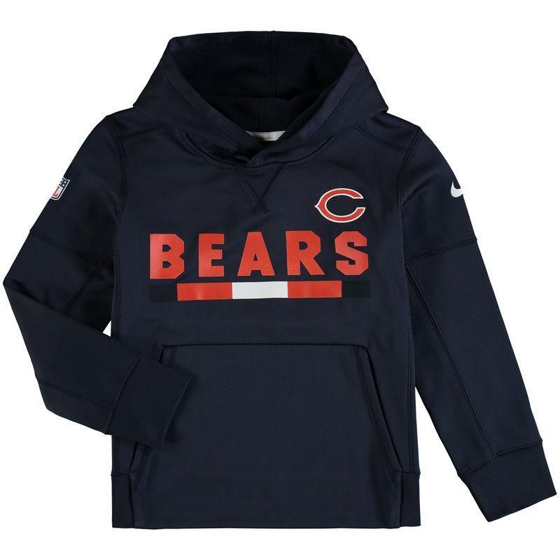 31983bae2  Fanatics.com -  Nike Chicago Bears Nike Youth Performance Pullover Hoodie  â€
