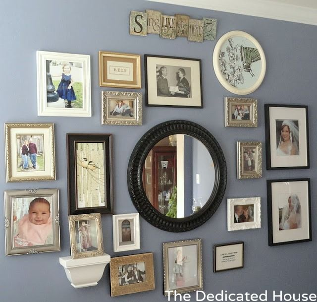 The Dedicated House: The Gallery Wall