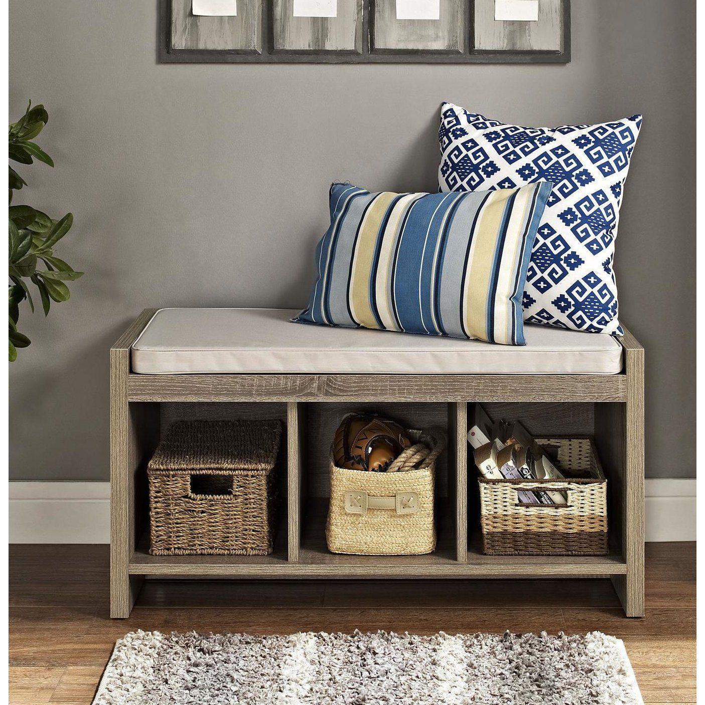 Customer image zoomed minimalista storage bench with