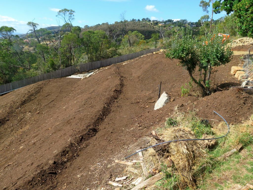 How To Landscape A Steep Slope | Good Life Permaculture ... on Steep Sloping Garden Ideas id=64065