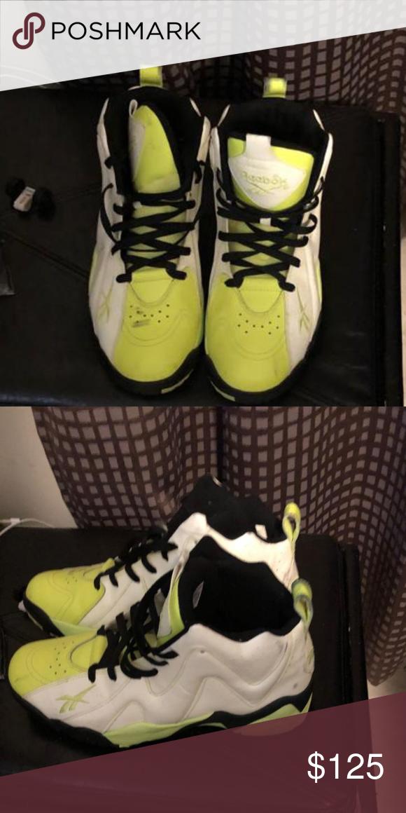 4bf4875af301b5 Reebok Kamikaze li mid glow in the dark Glow in the dark reebok Reebok  Shoes Sneakers