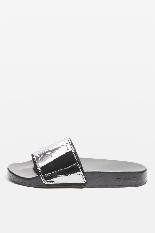81d19b766eb3a7 Logo Sliders by Ivy Park - Shoes- Topshop